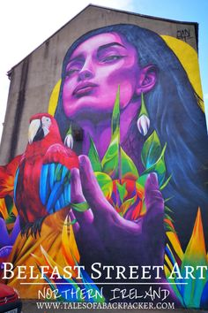 Belfast street art is some of the best street art I have seen all over the world! I've picked out my favourite pieces of street art in Belfast. 3d Street Art, Street Art Banksy, Best Street Art, Amazing Street Art, Street Artists, Street Mural, Graffiti Art, Graffiti Drawing, World Street