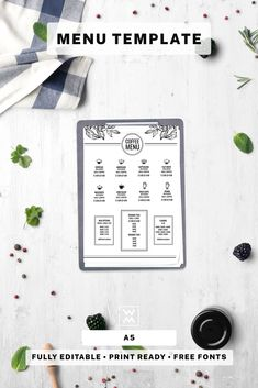 This Restaurant Menu Template is well organized and structured. All files are print-ready. Restaurant Menu Template, Menu Restaurant, Coffee Shop Menu, Templates, Image, Cafe Menu, Stencils, Vorlage, Models