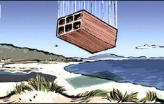 El ladrillazo en la playa
