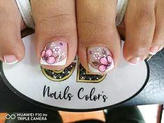 Magic Nails, Nail Colors, Decorations, Short Nail Manicure, Nail Manicure, Pretty Toe Nails, Nail Colour