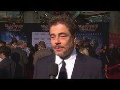 Guardians of the Galaxy: Benicio Del Toro World Premiere Interview --  -- http://www.movieweb.com/movie/guardians-of-the-galaxy/benicio-del-toro-world-premiere-interview