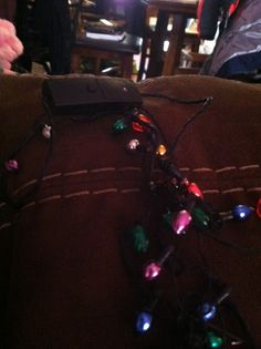 Cool light up necklace for a Christmas style