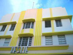 Deco Hotel, Miami yellow + Deco = perfect