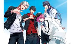 The Dirty Dawg - Hypnosis Mic -Division Rap Battle- - Image - Zerochan Anime Image Board Anime Boys, Sad Anime, Cute Anime Boy, Manga Anime, Happy Tree Friends, Ichigo E Rukia, Anime Friendship, Anime Group, Group Of Dogs