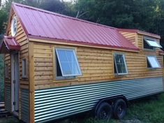 210 Sq. Ft. Little Foot Tiny House on Wheels                              …