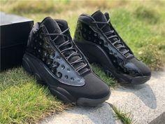 new styles df3c1 04c6d 2019 Air Jordan 13 Cap and Gown all Black