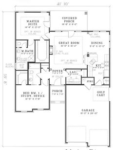 House Plan Chp 14932 At Coolhouseplans Southern Plans Country Style