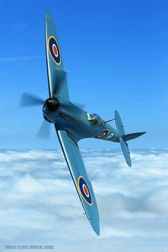 Spitfire PR XI.  A fantastic plane piloted by the most courageous men in WWII
