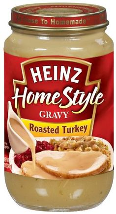 Best Heinz Homestyle Roasted Turkey Gravy Recipe on Pinterest