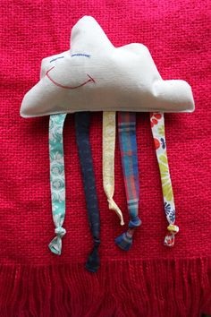 Cloth Baby Toy Little Rain Cloud by CraftyEwings on Etsy