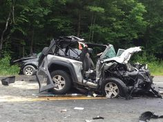 EAST BROOKFIELD - A 30-year-old Barre man died and three other people were seriously injured when a Jeep Wrangler and a Toyota Sequoia collided head-
