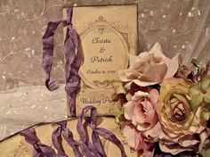 Vintage inspired / country / Rustic / Program by cuteNtrendy, $249.50