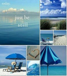 Just be still Collage mood board Collages, Pot Pourri, Mood Colors, Color Collage, Beautiful Collage, I Love The Beach, Jolie Photo, Colour Board, My Happy Place