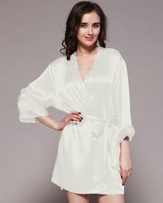 21acf4055d Buy White - Ivory - 100% Polyester Satin Gown - GWN 11 IV Online in  Karachi