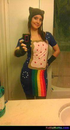 Vestito Nyan Cat - via FattoMatto.com