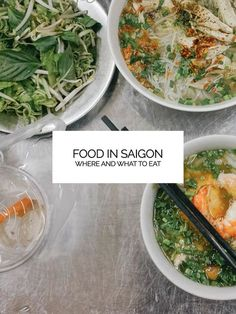 A list of places to eat in District 1 - Saigon / Ho Chi Minh City Vietnam