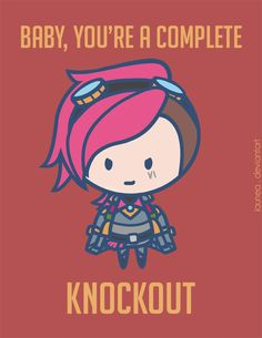 Day 8! Finally, she's here, here comes Vi... There has to be some rule out there that says you have to listen to a champ's theme song when you draw…