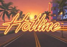 We have just published Hotline which is a new online slot by Net Entertainment. We offer a full review and a free gameplay.