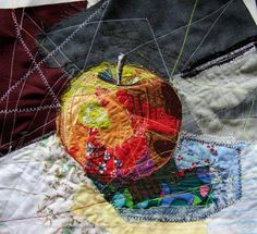 Magdalena Godowa - stitched textiles & papers