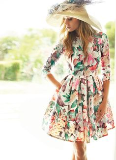 Trendy Dresses, Casual Dresses, Short Dresses, Prom Dresses, Summer Dresses, Lady Like, Style Casual, Classy Casual, Floral Fashion