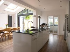 Kitchen extension - utility room, dining room all in one