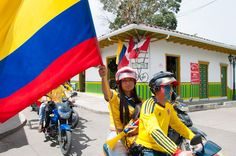 #WORLDCUP fever in Colombia!