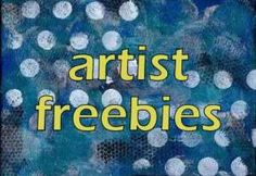 Printable freebies for blogs, journals and mixed media projects---some GREAT images- vibrant backgrounds...