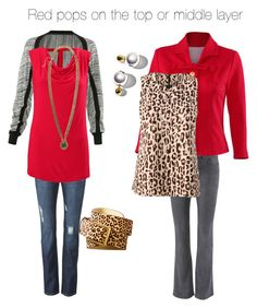 Reds done right by clothesdeb on Polyvore featuring CAbi.  More available at www.jeanettemurphey.cabionline.com