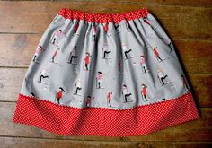 Amelie and Atticus: Sherbet Pips Party Skirts