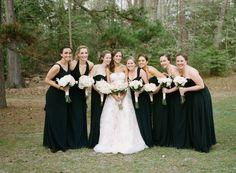 Bridesmaid Dresses, David's Bridal, Photo: Sarah Der Photography - Virginia Wedding http://caratsandcake.com/kevinandalyssa