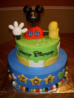 mickey mouse club house birthday cake | Mickey Mouse Clubhouse Birthday Cake Mbark Central Pictures