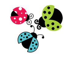 lady bugs svg dxf file instant download silhouette cameo cricut clip art