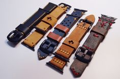 Black Forest Atelier Apple Watch Straps - $90