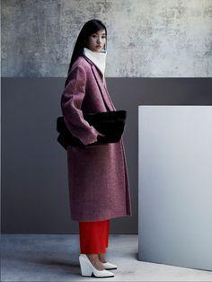 Lina Zhang – Vogue China October 2012