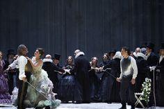 Juan Diego Flórez y Edgardo Rocha interpretan Otello, de Rossini, dirigidos por Muhai Tang y dirección escénica de Jürgen Flimm. (Teatro Alla Scala, Fotos Matthias Baus)