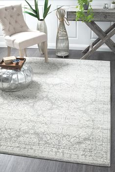 Our Kalkan Transitional Rug offers a beautiful blend of modern and traditional. An amazing piece of design that captures the latest Australian transitional trends.Long lasting, power loomed, made in Turkey and pile with an array of shapes an. Silver Grey Rug, Fade Styles, Polypropylene Rugs, Transitional Rugs, Small Rugs, Large Rugs, Round Rugs, Grey Rugs, Rugs Online