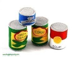 GROCERIES  PDF Felt Food Pattern Milk Eggs Carton by BuggaBugs, $6.00