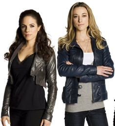 The gorgeous Anna Silk, Zoie Palmer and Ksenia Solo from the Lost Girl TV show Ksenia Solo, Anna Silk, Lost Girl Bo, Lost Girl Fashion, Girl Pictures, Girl Photos, Bo And Lauren, Lauren Lewis, Girl Themes
