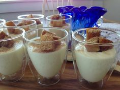 Light and Refreshing - White Chocolate Mousse with Drunken Pineapple