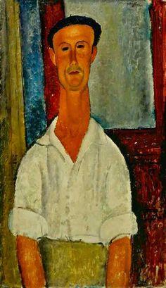 Gaston Modot (1918) Amedeo Modigliani