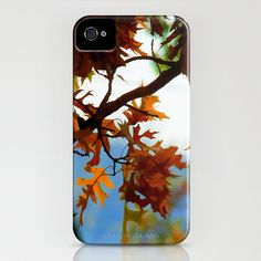 Fall Leaves iPhone Case by Christy Leigh - $35.00
