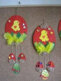 18 Easter Crafts for Kids that You'll Also Enjoy! Easter Art, Easter Projects, Easter Crafts For Kids, Easter Eggs, Easter Activities, Preschool Crafts, Preschool Decorations, Spring Crafts For Kids, Art For Kids