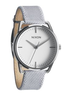 Flying A: The Mellor Watch in Pinstripe by Nixon