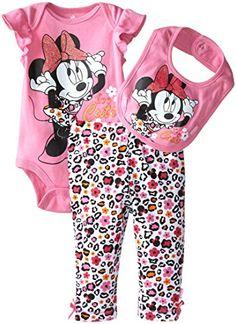 Disney Baby Baby-Girls Newborn Minnie Mouse 3 Piece Layette Set- Pant Bodysuit and Bib- Too Cute, Pink, 6-9 Months Disney http://www.amazon.com/dp/B00ULAD1TQ/ref=cm_sw_r_pi_dp_HD5Nwb0V2F82R