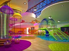 Espacios Cool para niños… Gimnasio Way beyond en San Diego. It may be for kids, but I could enjoy it too! Dream Rooms, Dream Bedroom, Teen Bedroom, Kids Gym, Cool Kids Rooms, Girl Bedroom Designs, Bedroom Ideas, Design Bedroom, Indoor Playground