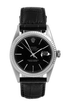 Vintage Rolex Men's 36mm Stainless Steel Datejust Watch on @HauteLook