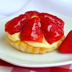 Inspired by the famous Tim Horton's Strawberry Tim Tarts from decades ago, these dessert tarts are sure to hit a nostalgic note; ideal for for Canada Day.