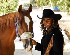 DeBoraha Akin (Townson) became the first Black cowgirl to compete in the International Professional Rodeo Finals in Today she is the only African American Woman to compete with a professional… Black Cowgirl, Black Cowboys, Cowboy And Cowgirl, Cowgirl Style, Real Cowboys, Sexy Cowgirl, The Lone Ranger, African American Women, African Americans