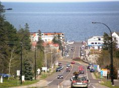 A view of downtown Grand Marais, MN.  One of my favorite rejuvenation places!