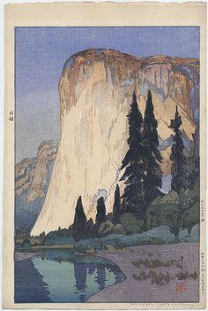 "Yoshida, Hiroshi (1876-1950), ""El Capitan""                                                                                                                                                                                 More"